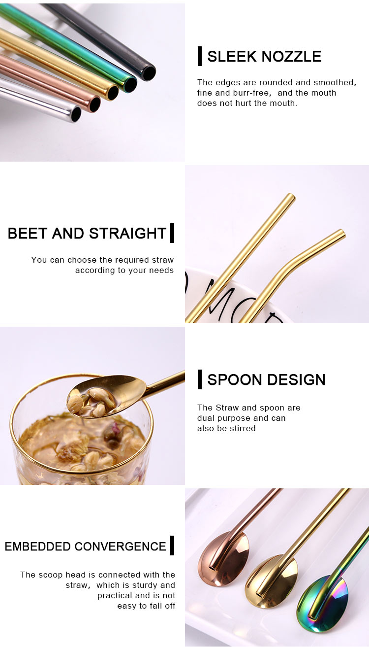 Metal Straw Spoon