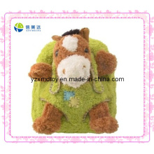 Green Horse Plush Animal Backpack