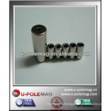 cylinder neodymium magnet with a hole