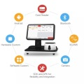 All-in-One-PC-POS-Terminal mit Drucker