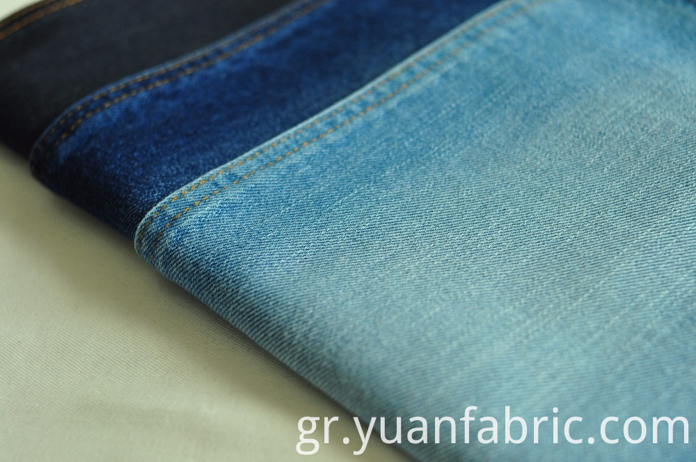 93stock 10oz 100 Cotton Warp Slub Denim Fabric