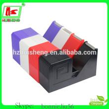 adhesive stationery tape dispenser, colorful novelty sticky tape dispenser HS811