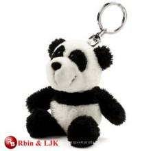 Hochwertiges kundenspezifisches Miniplüschpanda keychain