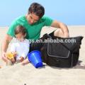 Bolso del pañal del hombro Bolso del pañal del bebé del adulto para hombre con la almohadilla cambiante