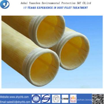 Sac de collecteur de poussière de sac de filtre à air d'HEPA de composé de PPS et de P84 pour l'industrie