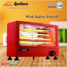 Fast Heating Square Quartz Electrical Heater, electric heaters
