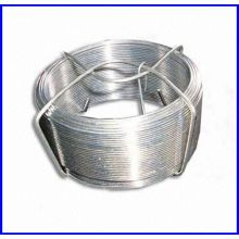 0.1lb galvanizado pequeno fio de bobina para supermercado