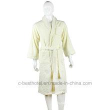 Trendy Design High Quality 100% Cotton Terry Hotel or Home Bath Bathrobe