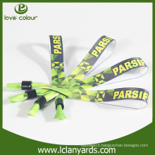 Free design friendly custom colorful printing wristbands for party