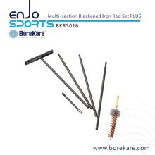 Borekare Hunting Military Multi-Section Blackened Iron Rod Set Plus