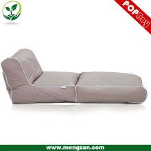 Foldable TV bean bag recliner set, Comfy living room bean bag sofa bed