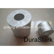 Manche / ferrures en aluminium à cordon en acier en acier (DR-Z0104)