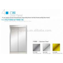 Painel da porta de pouso do elevador, painel da porta da cabine do elevador
