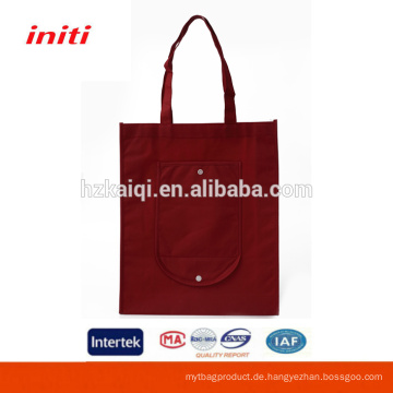 Großhandel hochwertige faltbare Einkaufstasche