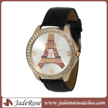 Relógio de pulso Fashion quartzo Eiffel Tower