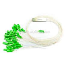 Divisor de fibra óptica, 1x8 divisor de fibra 1x16 1x32, divisor de plc com conector SC APC / UPC