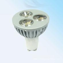 2014 nouveaux produits a conduit spot light 3w mr16 gu10 en Chine