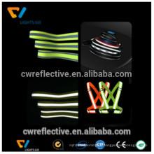 2017 venda quente customed EN471 correias de nylon reflexivo