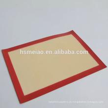 420 * 295mm assadeira de silicone mat casca de pastelaria