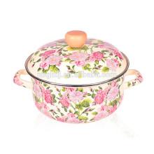 enamel dinner pot soup pot plain color wholesale price  enamel dinner pot soup pot plain color wholesale price