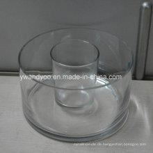 Große / regelmäßige leere Glas Jar Candle Holder