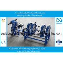 50mm/250mm HDPE Manual Butt Fusion Welding Machine 4 Rings