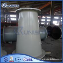 Tubería de acero resistente al desgaste grueso para el dragado (USC7-001)