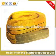 Élingue professionnelle de sangle de tissu tissé par pp / ceinture de levage de poids / outil de levage