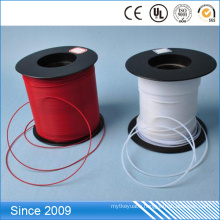 Resistant High Temperature Flexible Milk White Teflon PTFE Tubes