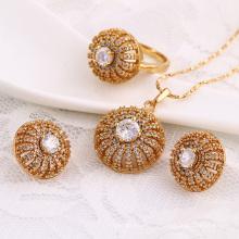 61701-Xuping Fashion Woman Jewlery avec plaqué or 18 carats