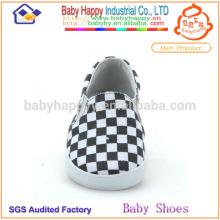Chaussures de bébé pour enfants occasionnels pour bébés Chaussures en béton en coton de conception classique de Chine