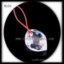colar de cristal W104