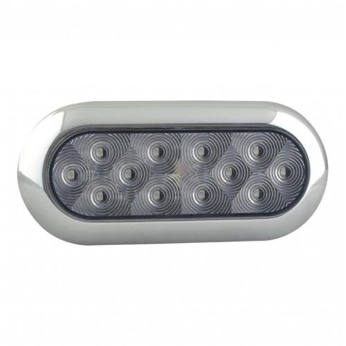 6 pollici ovale Trailer DOT / SAE posteriore Reverse LED Light