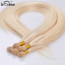 Palo brasileño sin procesar de la extensión del pelo de la Virgen sin procesar de la alta calidad dibujado doble inclino el pelo