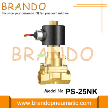 1 '' Valve Solenoid Brass Steam Brass Piston Biasanya