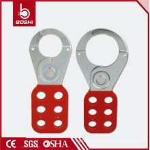 "BOSHI Lockout/Tagout PA Coated Steel Hasp with 1"" Jaw(BD-K01)"