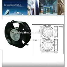 Ventilateur d'ascenseur FP-108EX-S1-B Ventilateur à courant continu d'ascenseur AC110V
