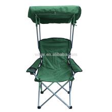 Ajustável sol cadeira de praia sombra