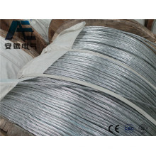 ASTM Standard Galvanized Steel Strand Wire for ACSR