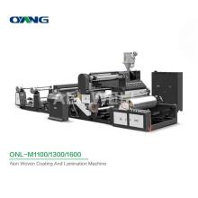 ONL-M1100-1800 High Speed Fabric Laminating Press Machine, Extrusion Film Non Woven Laminating Machine