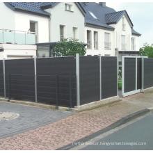 wpc composit fence panels