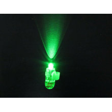 doigt laser vert