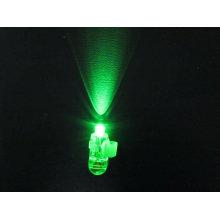 dedo laser verde