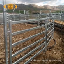 Wholesale bulk high quality Australia standard galvanized metal cattle corral livestock farm yard fence panels