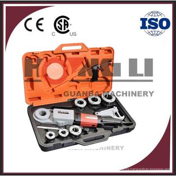 """Enhebrador de tubo eléctrico portátil SQ30-2B con CE y CSA para 3/8 """"-2"""""""