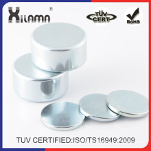 Permanent Sintered Rare Earth Disc Neodymium Iron Boron NdFeB Magnet