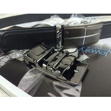 Cintos de couro para homens em preto (RF-160509)