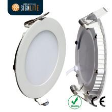 2014 heiße Verkäufe China Hersteller Fabrik Preis Ultra Thin / Slim LED-Panel Downlight mit CE und RoHS