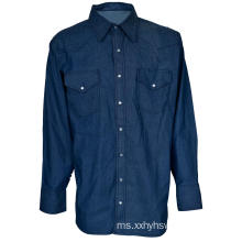 FR denim shirt protective protective workwear