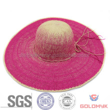 Round Top Colorful Paper Women Hat